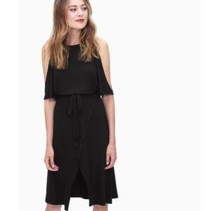 Splendid Cold Shoulder Wrap Dress